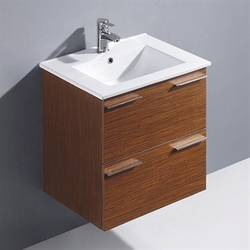 Vigo 24 opehelia single bathroom vanity wenge free for Levi 29 5 single modern bathroom vanity set