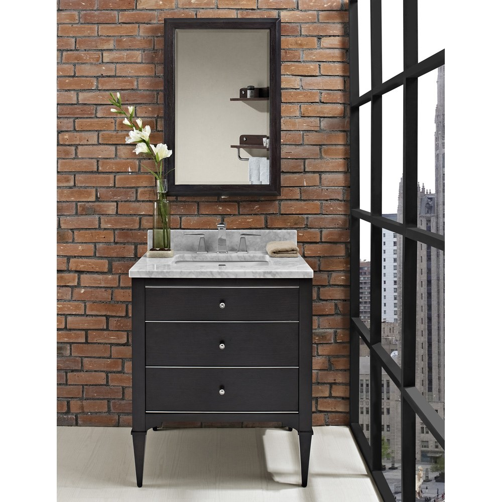 "Fairmont Designs Charlottesville 30"" Vanity - Vintage Blacknohtin Sale $1295.00 SKU: 1511-V30 :"