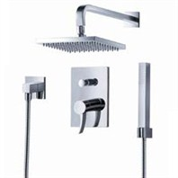 fluid Sublime Pressure Balancing Shower Set w/ Handheld Trim Package F1341-T