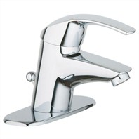 Grohe Eurosmart Centerset Lavatory Package - Starlight Chrome