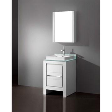 "Madeli Vicenza 24"" Bathroom Vanity, Glossy White B999-24-001-GW by Madeli"