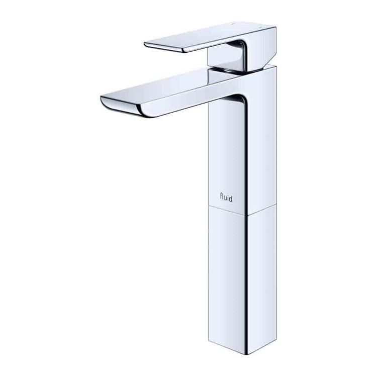 "fluid Quad Single Lever Lavatory Tap with 6"" Extension F16002-"