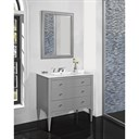 "Fairmont Designs Charlottesville 36"" Vanity for Integrated Sinktop - Light Gray 1510-V36-"