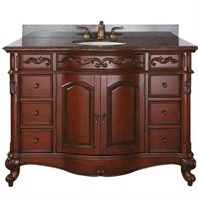 "Avanity Provence 49"" Single Bathroom Vanity - Antique Cherry PROVENCE-V48-AC"