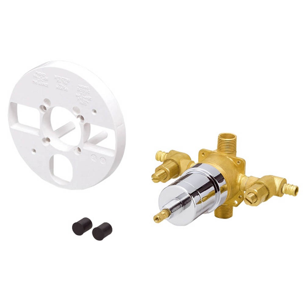 Danze 1H Tub & Shower Pressure Balance Ceramic Disc Valve w/ Stops Pex B or C (Crimp)nohtin Sale $95.25 SKU: D112010BT :