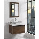 "Fairmont Designs M4 30"" Wall Mount Vanity for Vessel Sink - Natural Walnut 1505-WV30--"