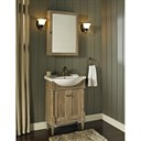 "Fairmont Designs Rustic Chic 26"" Euro Vanity - Weathered Oak 142-EU2617"