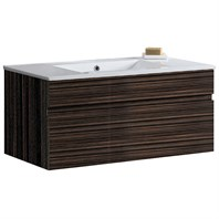 "VIGO 35"" Single Bathroom Vanity - Ebony VG09008109K1"
