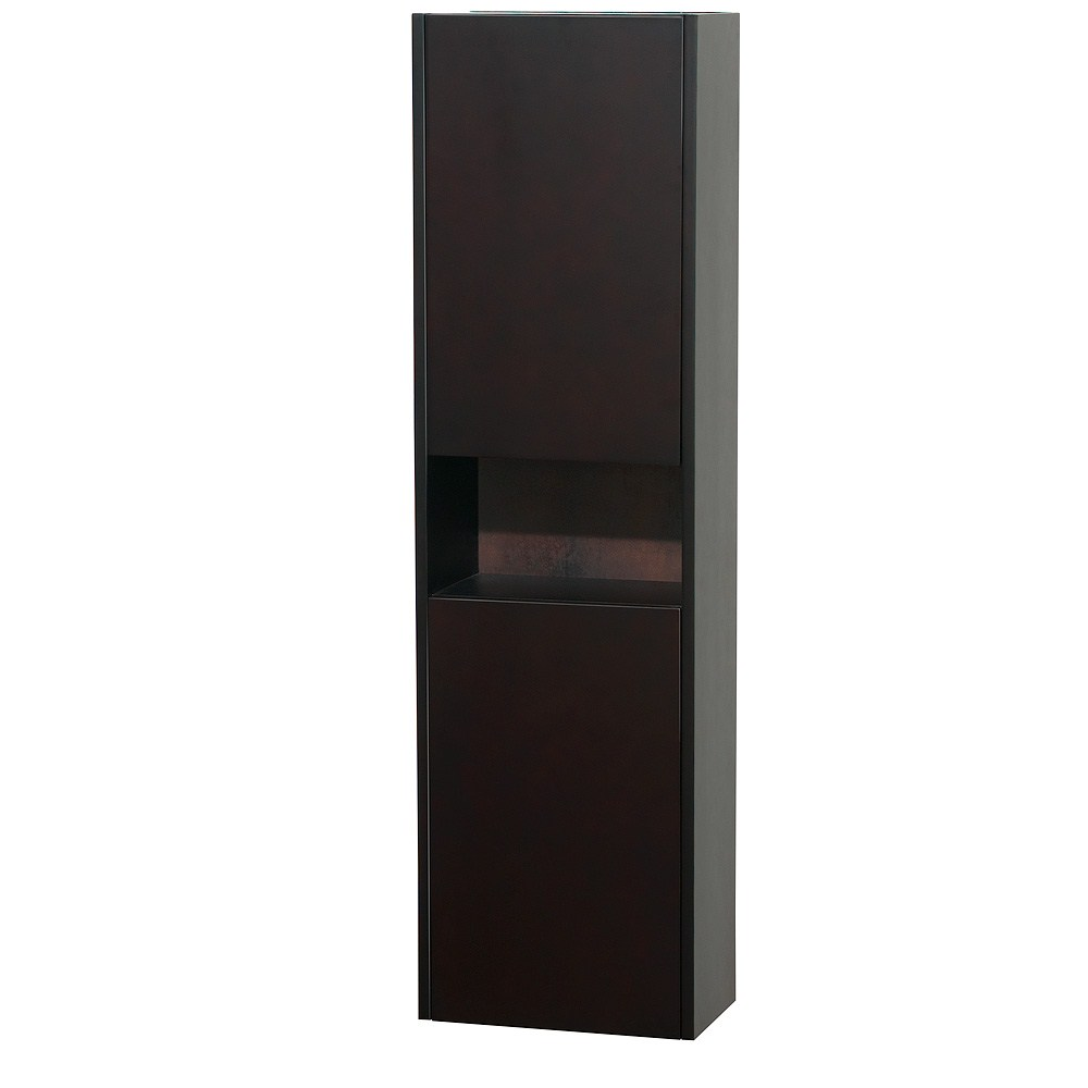 Diana Wall Cabinet by Wyndham Collection - Espressonohtin Sale $499.00 SKU: WC-V203-ESP :