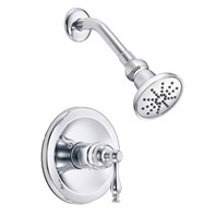 Danze Sheridan Trim Only Single Handle Pressure Balance Shower Faucet - Chrome D520655T