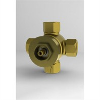 TOTO Three-Way Diverter Valve - Chrome TSMXW