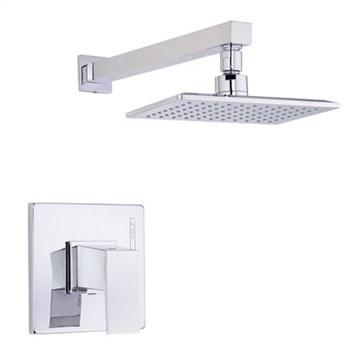 Danze Mid-Town Trim Only Single Handle Pressure Balance Shower Faucet, Chrome D502562T by Danze
