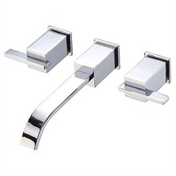 Danze® Sirius™ Two Handle Wall Mount Lavatory Faucet Trim Kit - Chrome