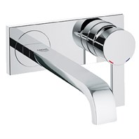 Grohe Allure 2-Hole Wall Mount Vessel Trim, M-Size - Starlight Chrome GRO 19387000