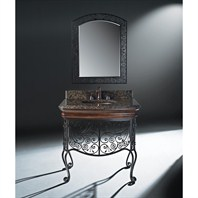 "Luxe Adria 36"" Single Bathroom Vanity - Antique Caramel B7052BV36-W326"