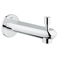"Grohe Eurodisc Cosmopolitan 6 11/16"" Diverter Tub Spout - Starlight Chrome GRO 13283002"