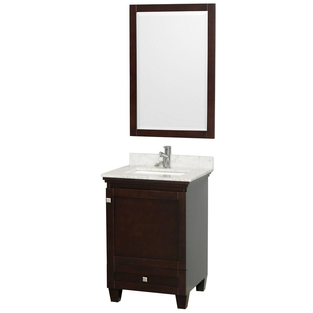 Acclaim 24 In. Single Bathroom Vanity By Wyndham Collection - Espresso