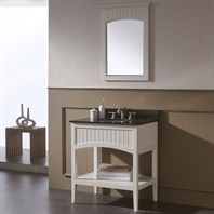"Avanity Beverly 31"" Single Bathroom Vanity - Soft White BEVERLY-V30-WT"