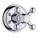Grohe Seabury Trim Volume Control with Cross Handle - Starlight Chrome