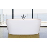 Aquatica Purescape 014 Freestanding Acrylic Bathtub - White Multiple Sizes Aquatica Purescape 014