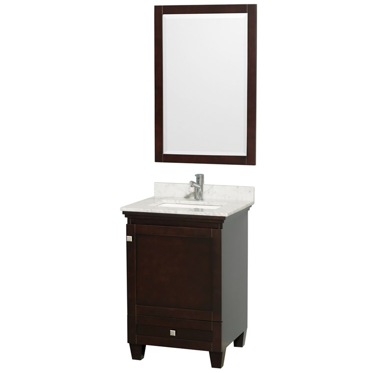Acclaim 24 in. Single Bathroom Vanity - Espresso WC-CG8000-24-SGL-VAN-ESP