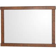 "Colby Bathroom Mirror - Burl (44"" x 33"") H11000-44-BURL"