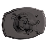 Grohe Geneva Thermostat Trim with Cross Handle - Oil Rubbed Bronze