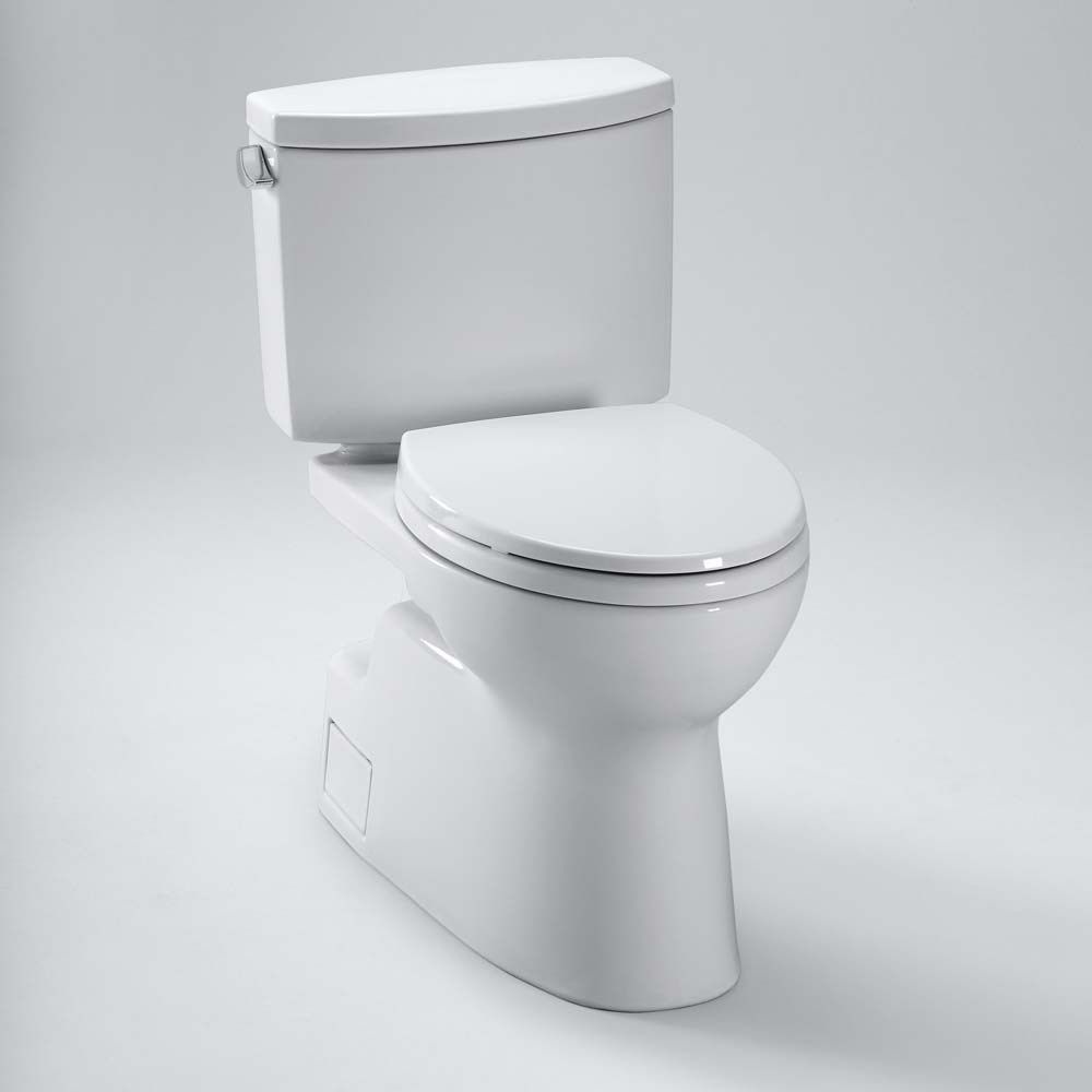 TOTO Vespin II Two-Piece Elongated Toilet, 1.28 GPF | Free Shipping ...