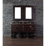 "James Martin 60"" Balmoral Double Vanity - Antique Walnut 150-V60D-ANW"