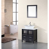 "Design Element Designer's Pick 30"" Bathroom Vanity - Espresso DEC020"