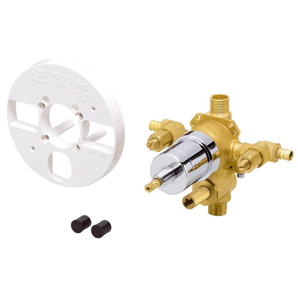Danze 1H Tub & Shower Pressure Balance Ceramic Disc Valve w/ Diverter & Stops Pex B or C (Crimp)nohtin Sale $135.00 SKU: D113010BT :