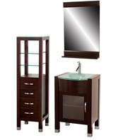 "Daytona 24"" Bathroom Vanity Set - Espresso A-W2109-24-ESP-SET"