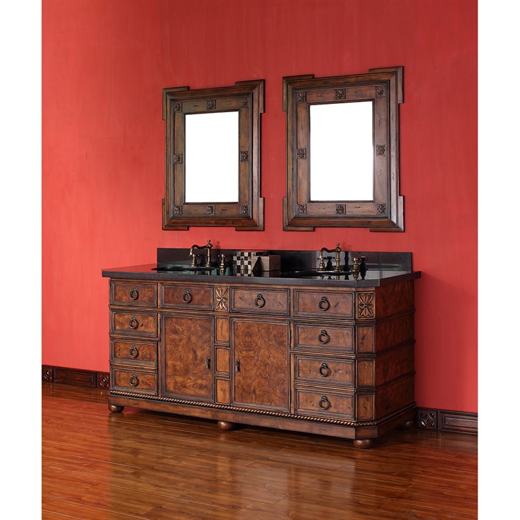"James Martin 71"" Regent Double Vanity - English Burl 202-V71-ENB-GB"
