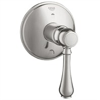 Grohe Geneva 3-Port Diverter Trim - Infinity Brushed Nickel