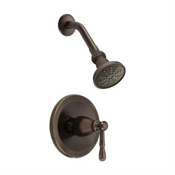 Danze Eastham Trim Only Single Handle Pressure Balance Shower Faucet, Tumbled Bronze D501515BRT by Danze