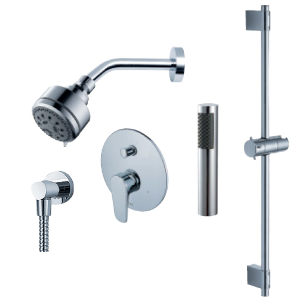fluid Utopia - Handheld Shower Trim Set with Slide Barnohtin Sale $263.99 SKU: F1854T :