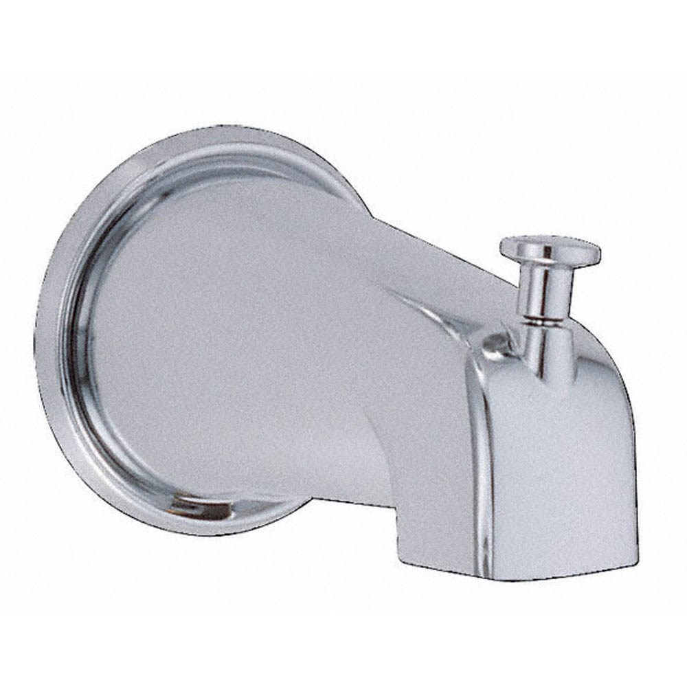 "Danze 5 1/2"" Wall Mount Tub Spout with Diverter - Chromenohtin"