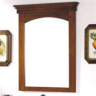 "Fairmont Designs 38"" Lifestyle Collection Shaker Mirror - Warm Cherry"