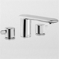 TOTO Aquia® Deck-Mount Tub Filler Trim TB416DD