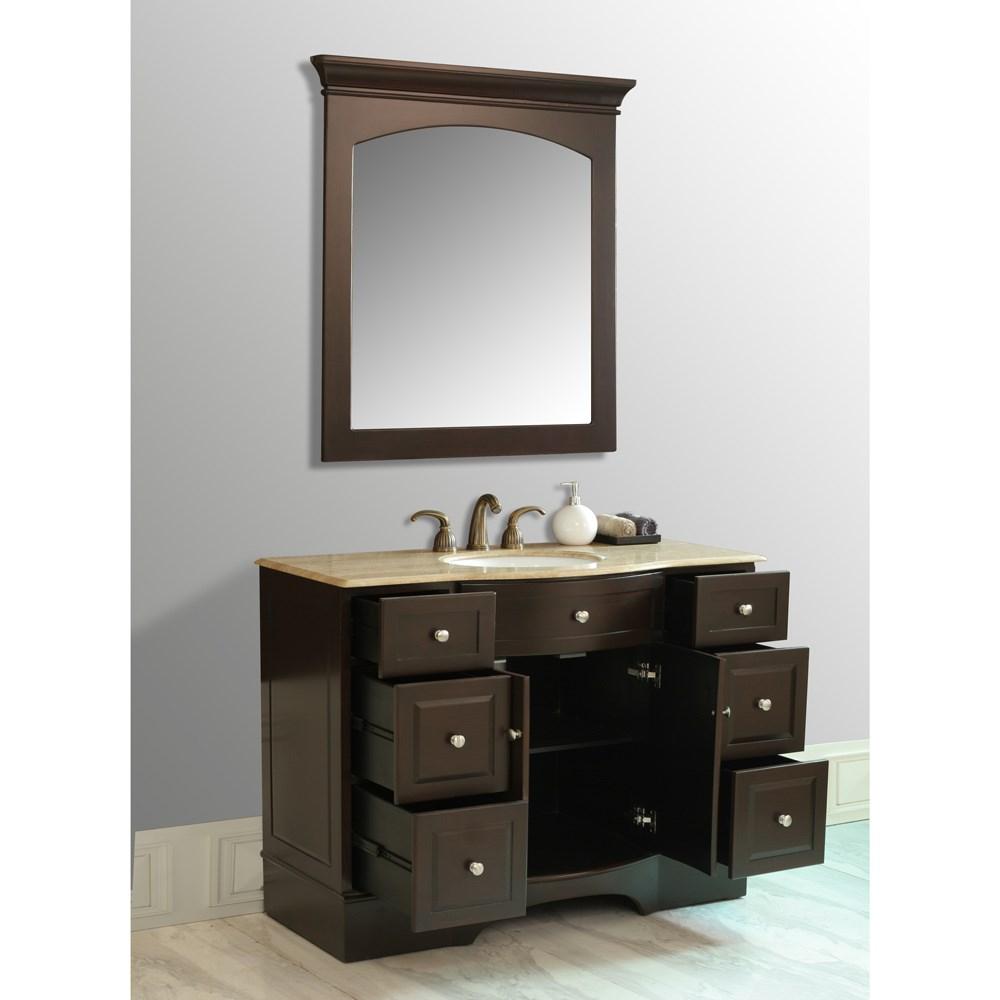 Stufurhome 48 Lotus Single Sink Vanity
