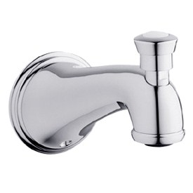 Grohe Geneva Tub Spout with Diverter, Starlight Chrome by GROHE