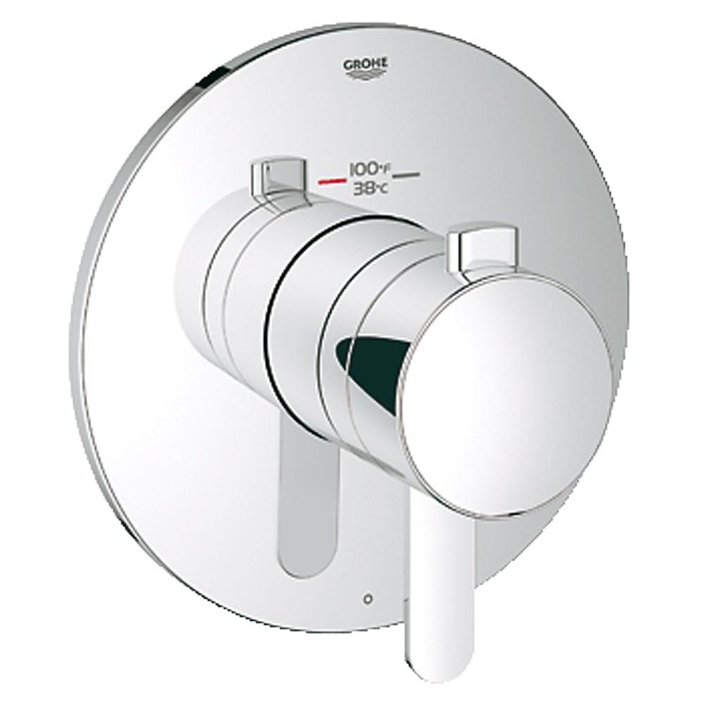 Grohe Europlus Single Function Thermostatic Trim with Control Module - Starlight Chromenohtin Sale $349.99 SKU: GRO 19869000 :