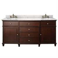 "Avanity Windsor 72"" Vanity Only - Walnut AVA11401-72-WAL-"