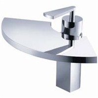 fluid Fan Single Lever Lavatory Tap F11001