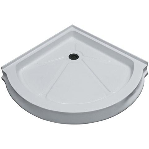 """Vigo Industries Round Shower Base - 40"""" x 40""""nohtin Sale $548.99 SKU: VG06039WHT40 :"""