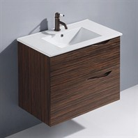 Vigo 32-inch Espresso Mayan Single Bathroom Vanity - Ebony VG09038109K1