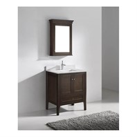 "Madeli Torino 30"" Bathroom Vanity - Walnut B971-30-001-WA"