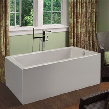 "MTI Andrea 19A Freestanding Sculpted Tub, 54"" x 32"" x 21.5"" MTDS-186A by MTI"