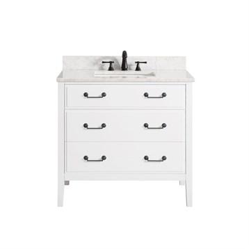 "Avanity Delano 36"" Single Bathroom Vanity, White DELANO-36-WT by Avanity"