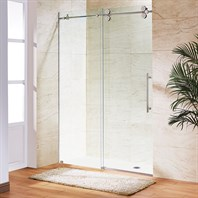 "Vigo Industries Frameless Adjustable Shower Door (44 1/2"" - 48"") VG6041-42-48"